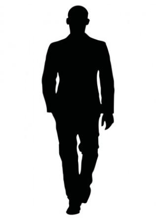316x448 Shadow Clipart Man Shadow 3893805