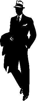 164x347 Man Wearing Hat Silhouette Shadows Silhouettes