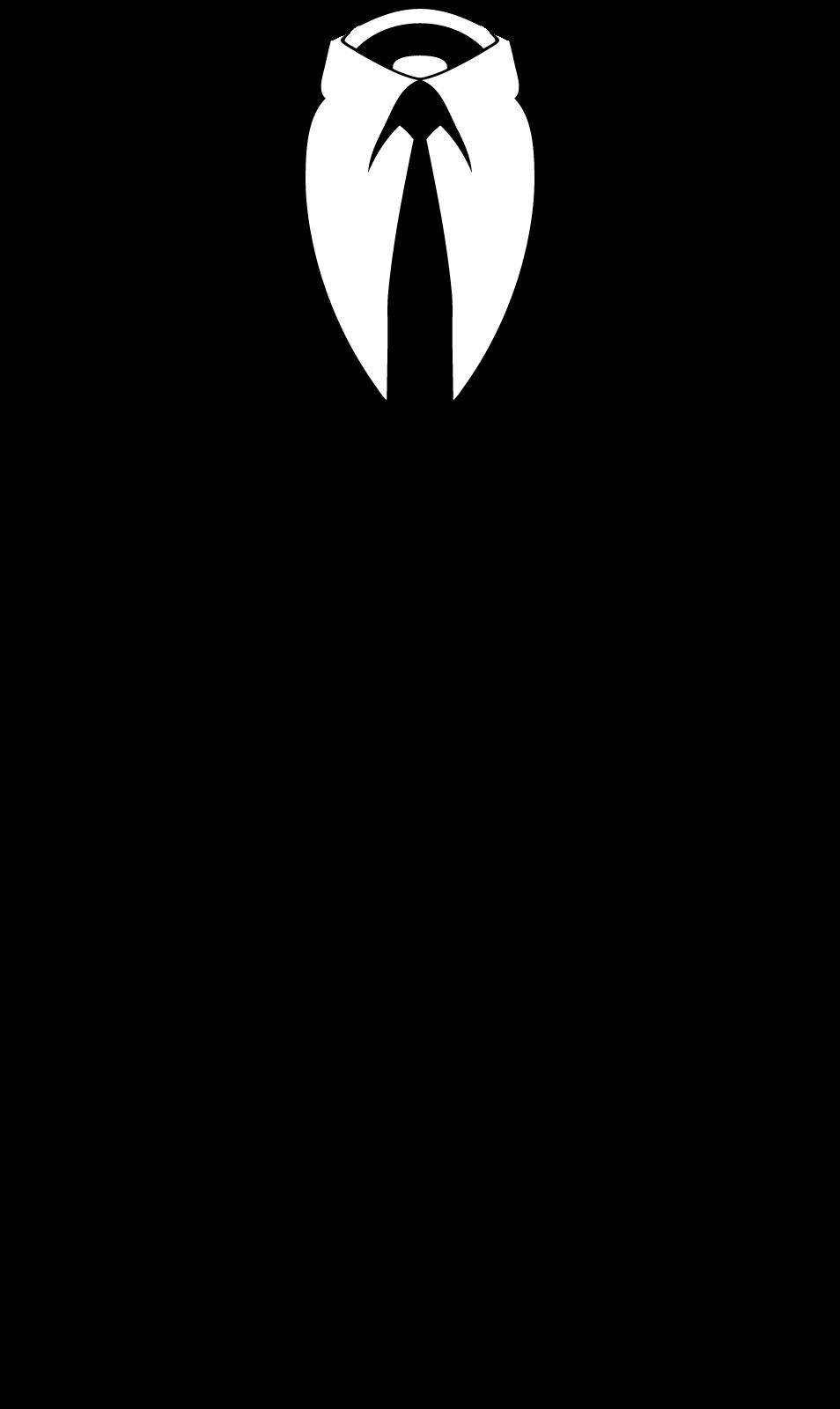 954x1600 Suit Silhouette Clipart
