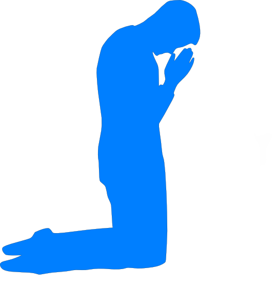 540x594 Praying Man Clip Art