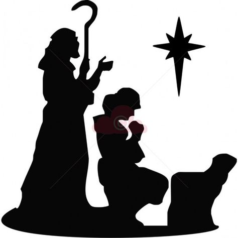 474x474 Pix For Gt Shepherd And Sheep Silhouette Nativity