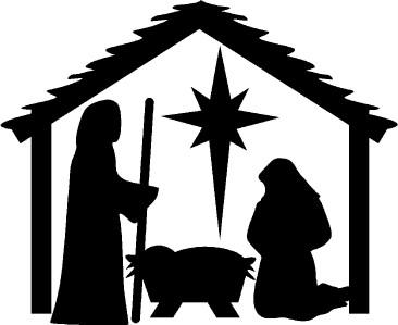 366x299 Best Photos Of Nativity Clip Art Free Printable