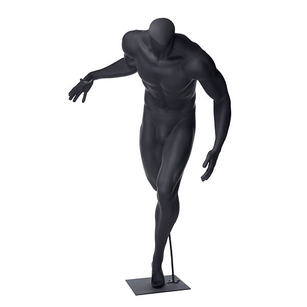 600x600 Male Sports Mannequin, Basketball Pose Subastral
