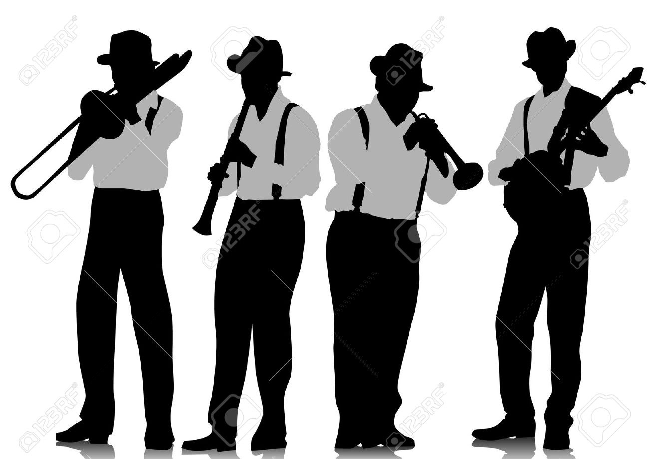 1300x919 Marching Band Silhouette Cliparts