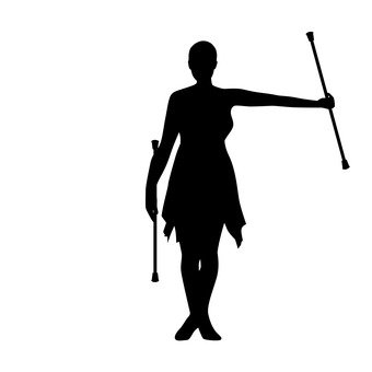 340x340 Free Silhouettes An Illustration, Show