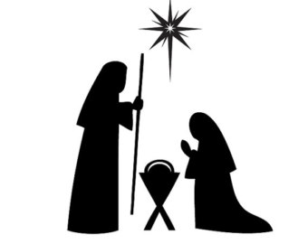 340x270 List Of Synonyms And Antonyms Of The Word Nativity Silhouette