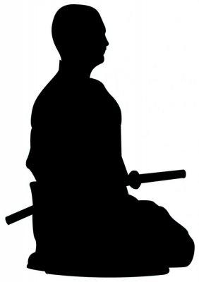 282x400 Meditation Silhouette Clipart