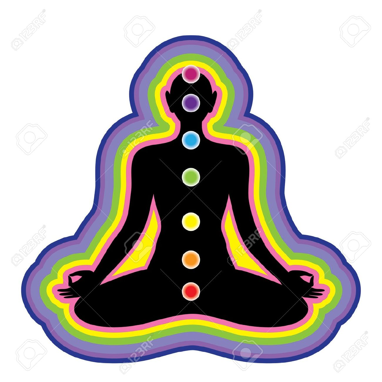 1300x1300 Meditation Clipart