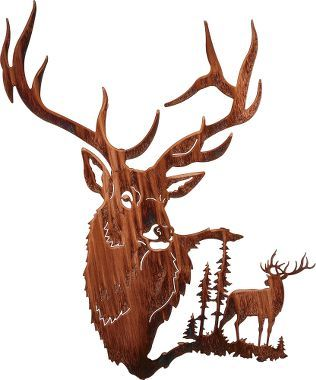 316x380 Elk Summit Metal Wall Art Metal Wall Art, Metal Walls And Elk