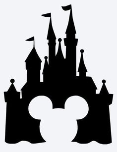 236x307 Disney Castle With Mickey Mouse Vinyl By Sheshevinylandthings