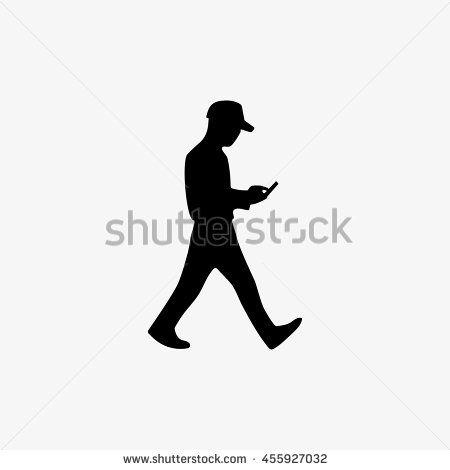 450x470 Silhouette Man