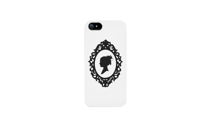700x420 Cameo Silhouette Vintage Phone Case For Iphone 4, Iphone 5, Iphone