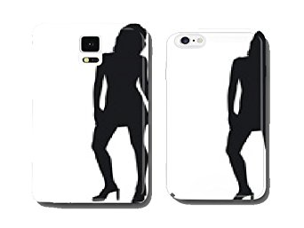 342x257 Female Silhouette Mobile Phone Cover Pare Ntitem Amazon.co.uk