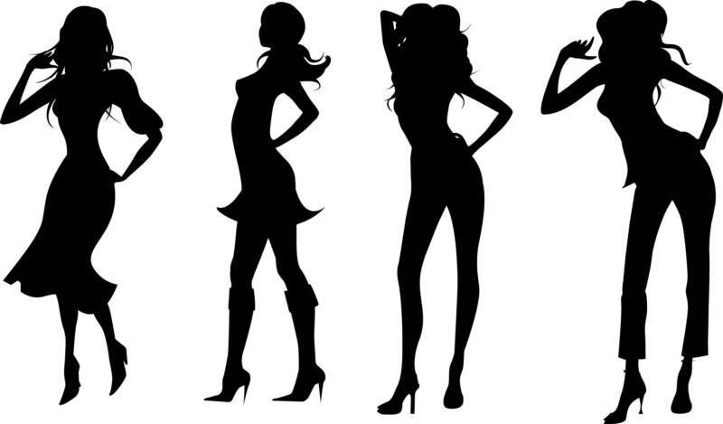 800x469 Pics For Gt Runway Model Silhouette Model Silhouette