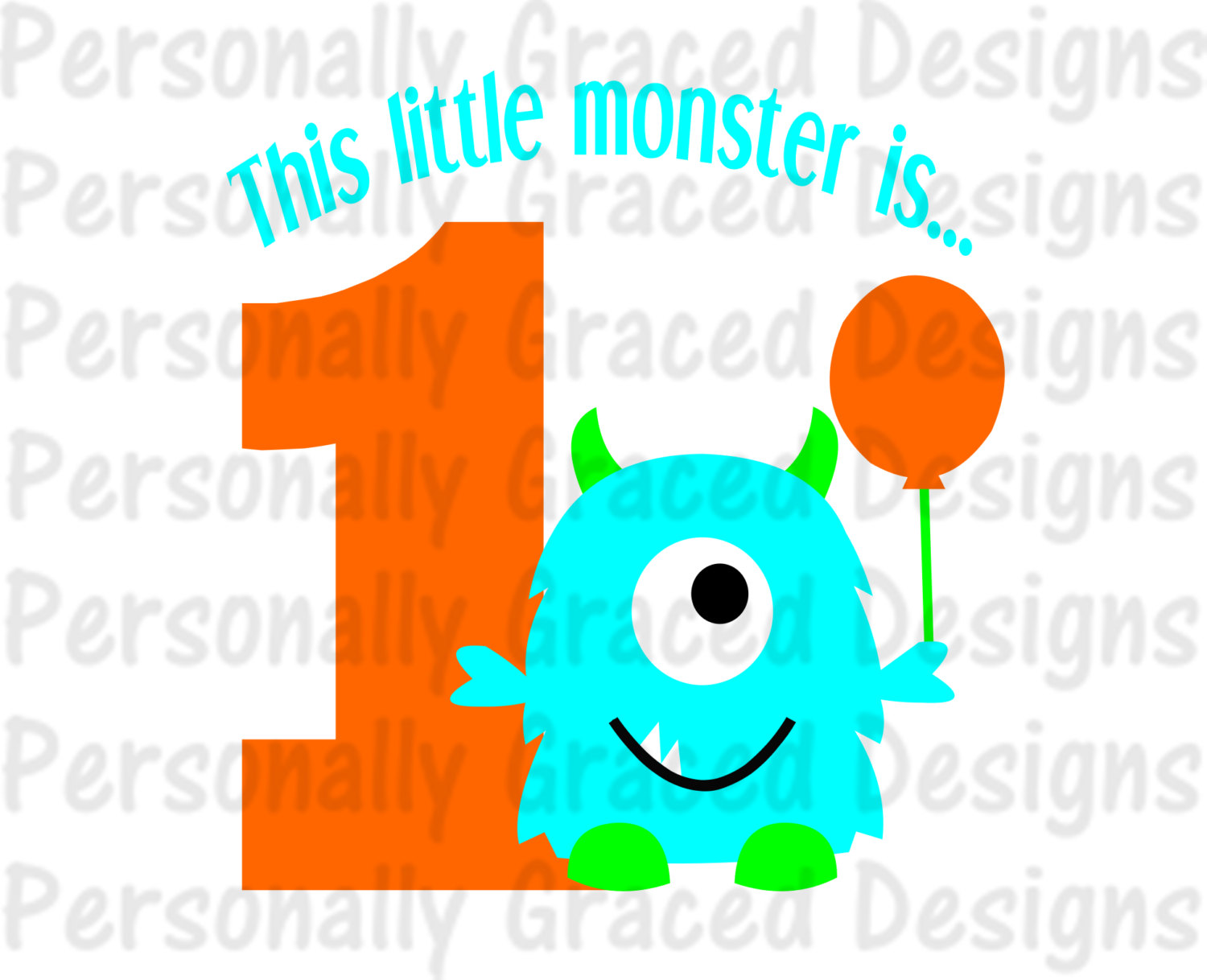 1500x1218 Svg, Dxf, Eps Cut File This Little Monster Is 1 Svg, Birthday Svg