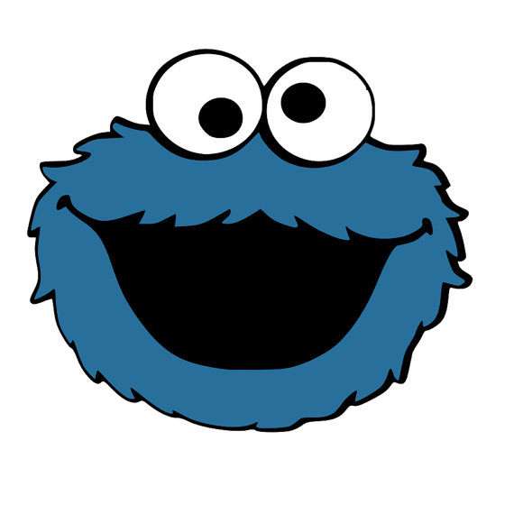 570x570 Cookie Monster 3 Layered Svg Cut File Cricut Silhouette Cookie