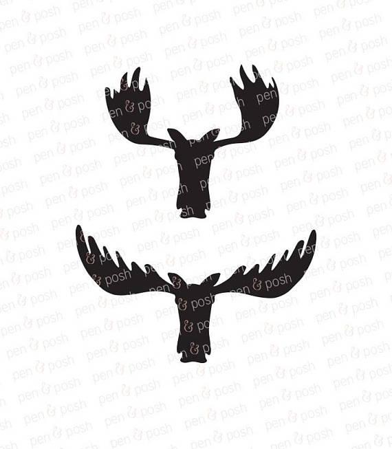 570x653 Moose Svg
