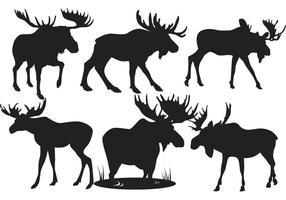 286x200 Moose Silhouette Vector