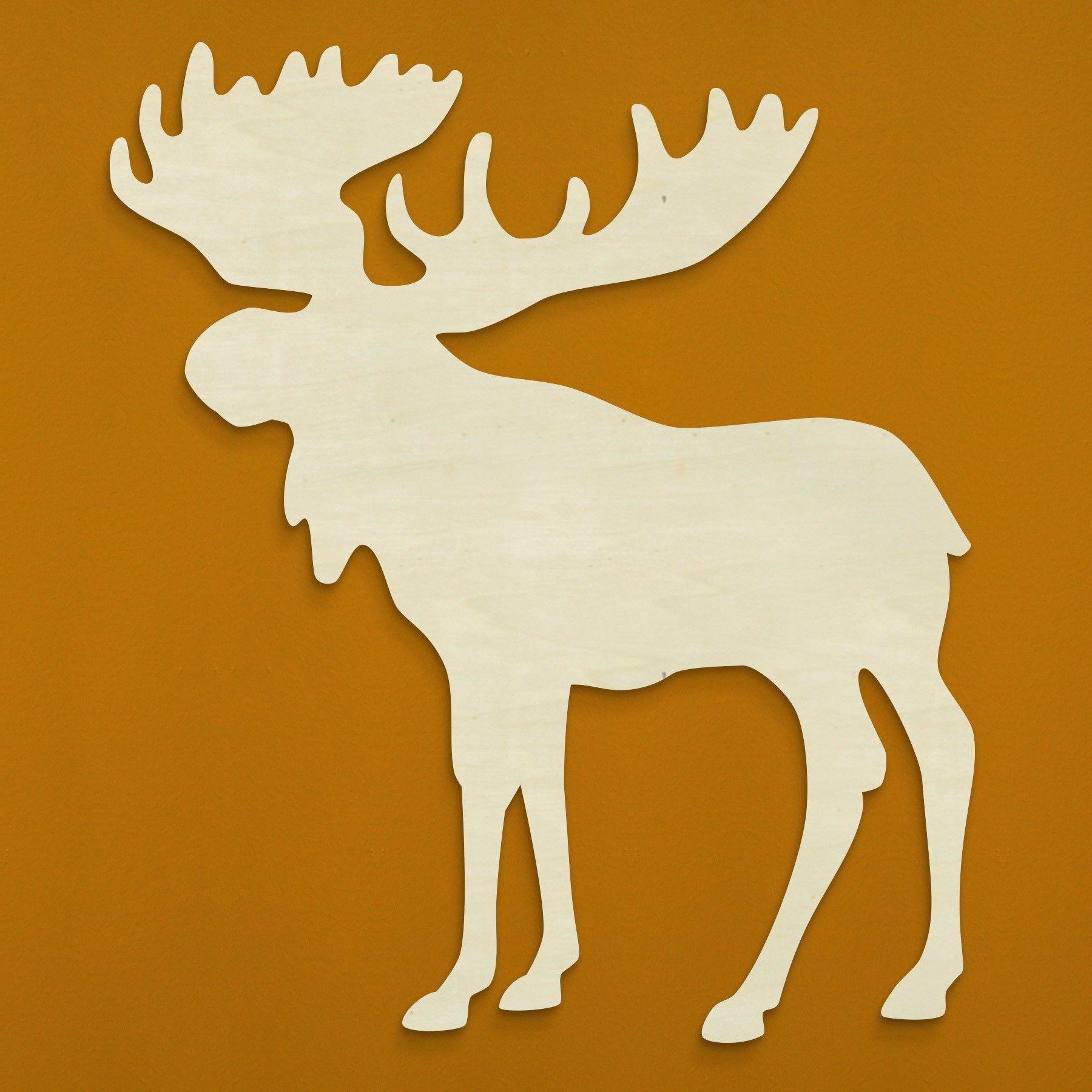 1800x1800 Moosse Silhouette 18.5 Moose Silhouette Silohettes
