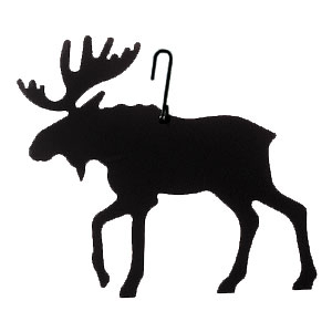 300x300 Iron Moose Silhouette