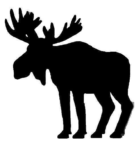 482x500 Moose Clipart Clipart Library Moose Clipart