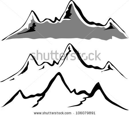 450x403 Mountain Ridge Clipart Mountain Silhouette