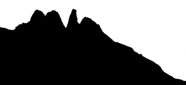 592x270 Silhouette Mountains Tutorial – newMediaAbington