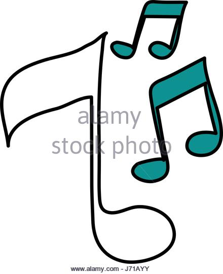 440x540 Musical Notes Stock Vector Images