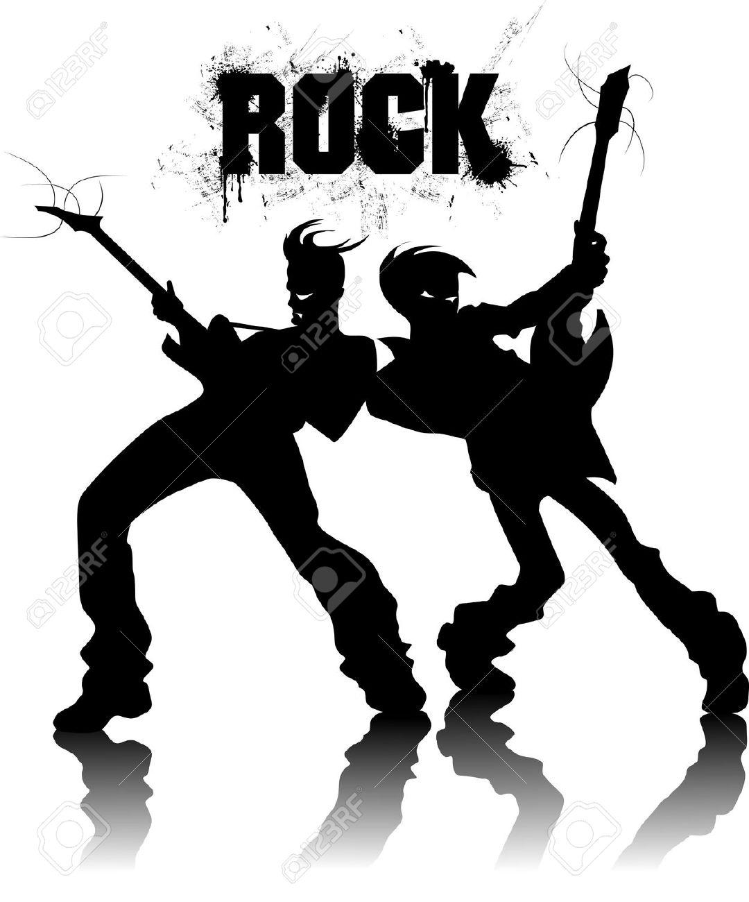 1080x1300 Musician Clipart Rock Band