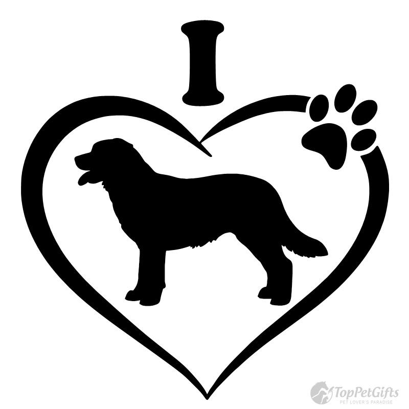800x800 I Love My Labrador Decal