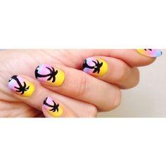 236x236 Palm Amp Sunset Nails Nails Palms, Nails And Sunset