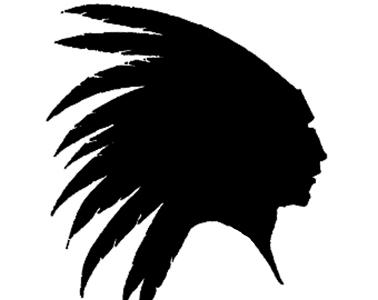 Silhouette Native American at GetDrawings.com | Free for personal use Silhouette Native American ...
