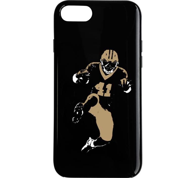 792x719 Kamara New Orleans Football Team Silhouette Black Phone Case
