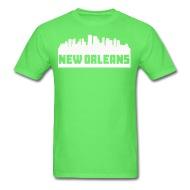 190x190 New Orleans Louisiana Skyline Silhouette T Shirt Spreadshirt