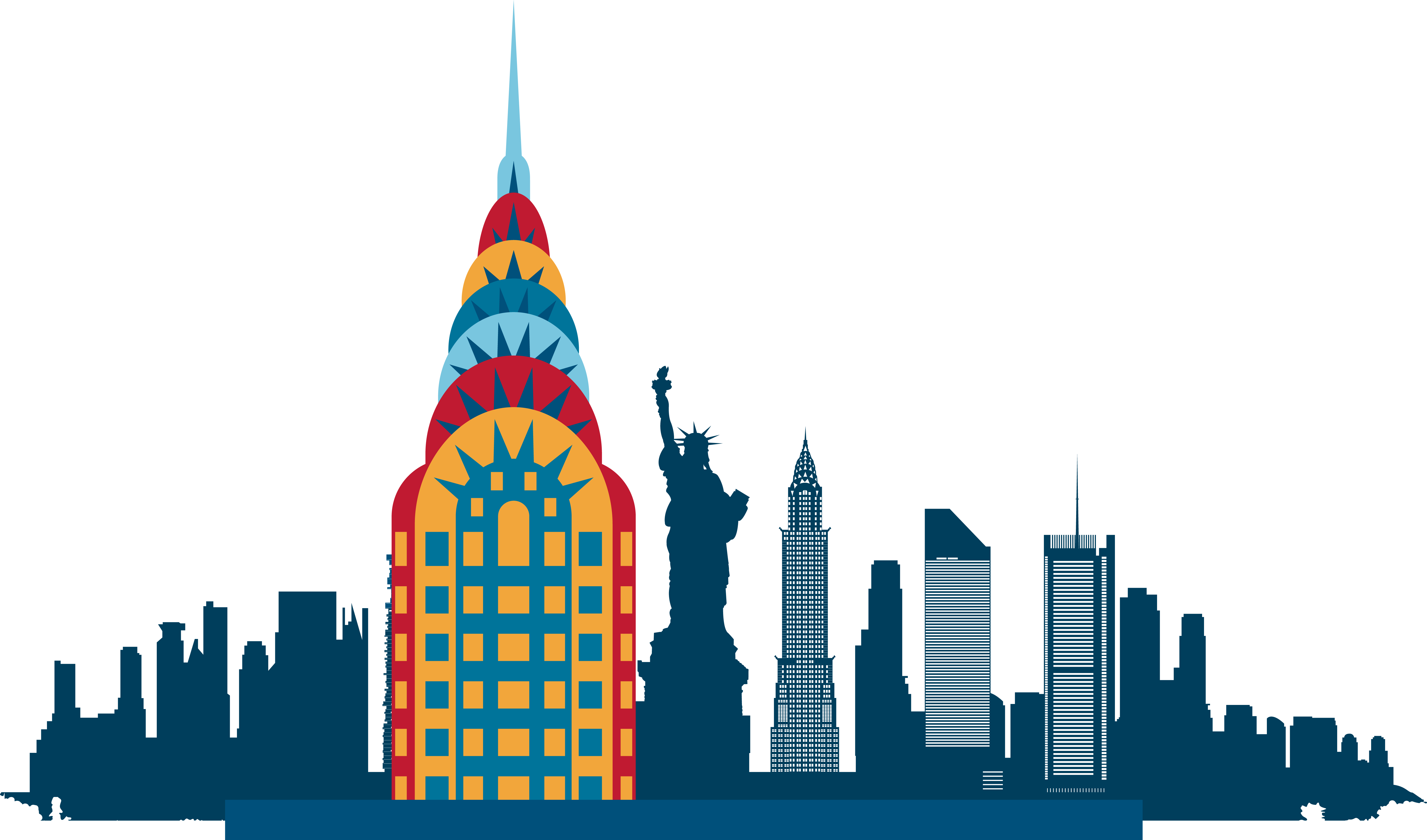 Silhouette nyc skyline at getdrawings free for personal use 5926x3489 new york city skyline silhouette illustration thecheapjerseys Choice Image