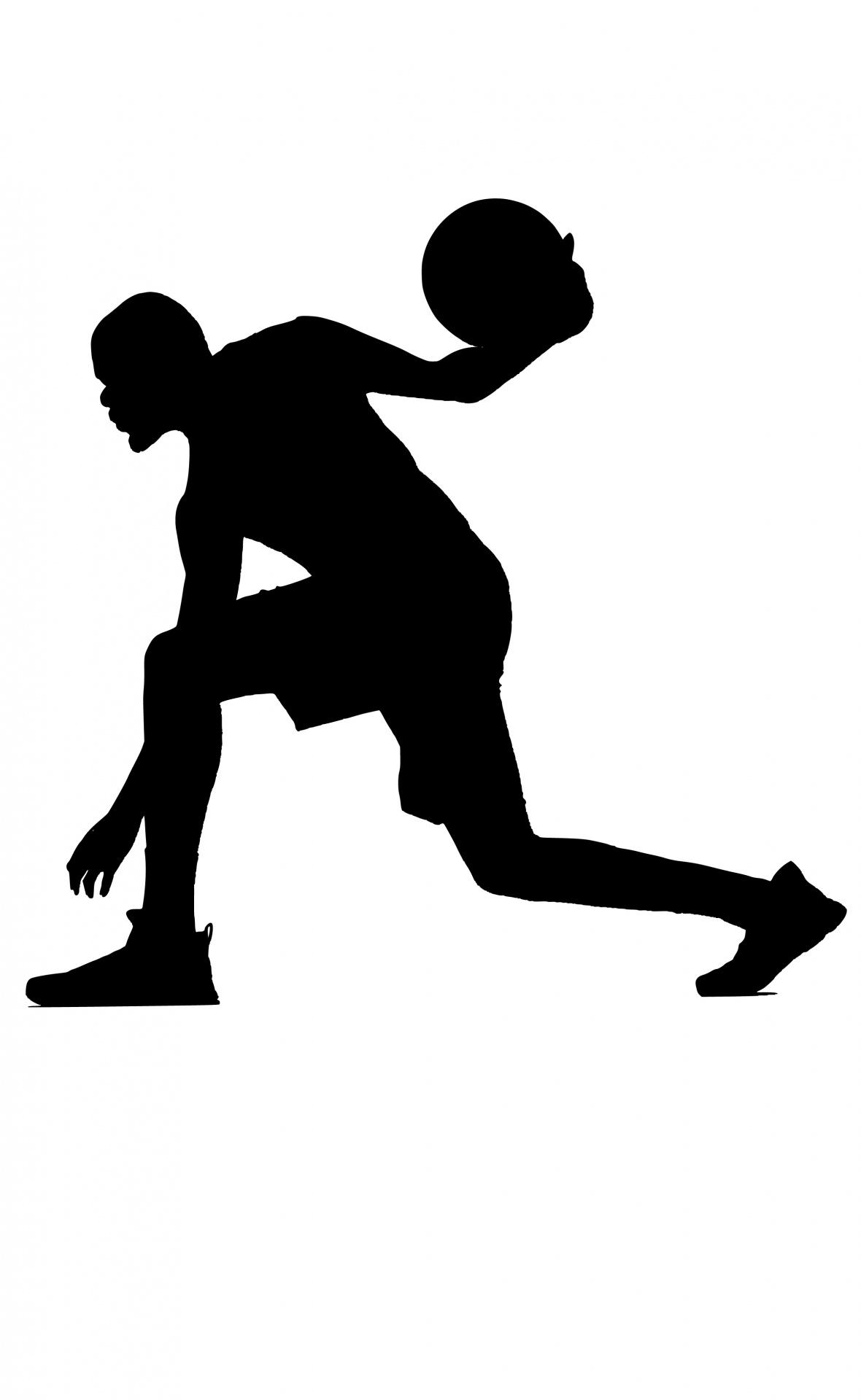 1180x1920 Basketball Silhouette Free Stock Photo
