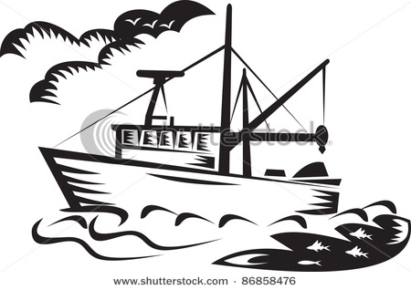 silhouette of a boat at getdrawings com free for personal use rh getdrawings com fishing boat clip art free bass fishing boat clipart