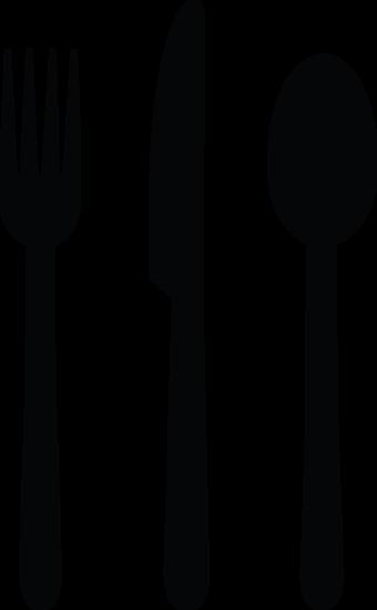 340x550 Tableware Silhouettes