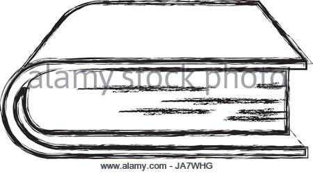 450x249 Monochrome Blurred Silhouette Of Stack Of Books Stock Vector Art