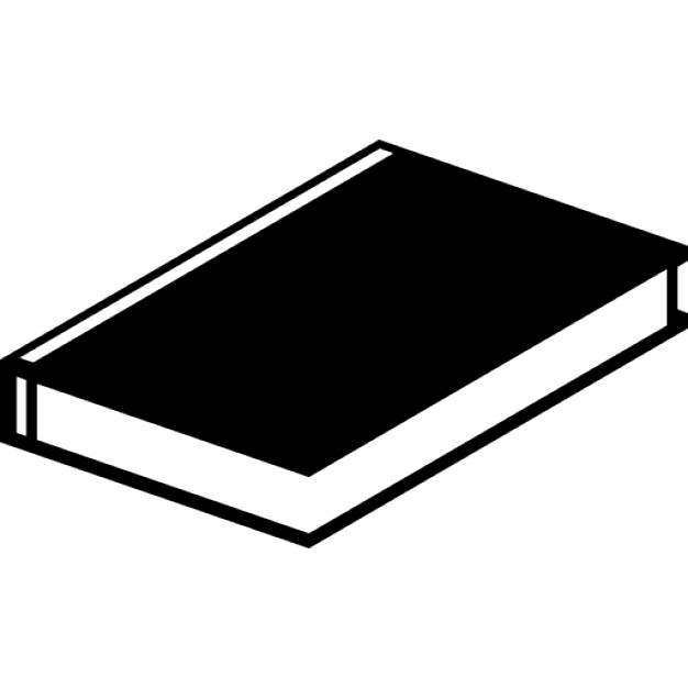 626x626 Closed Book Side View Variant Icons Free Download
