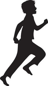 167x300 Running Clipart Image