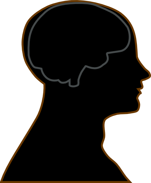 492x594 Man Brain Grey Clip Art