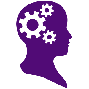 300x300 Purple Clipart Brain