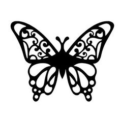 236x224 Free Butterfly Printable Amp How To Use With Silhouette Software