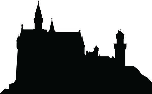 600x371 Silhouette Of A Castle.