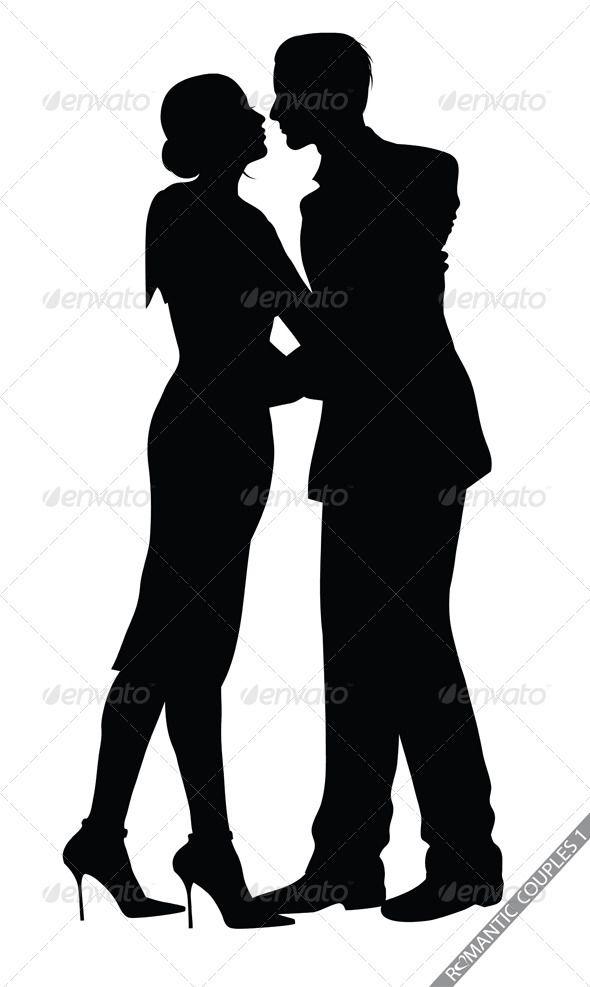 590x987 Romantic Couple Silhouettes Couple Silhouette, Romantic Couples