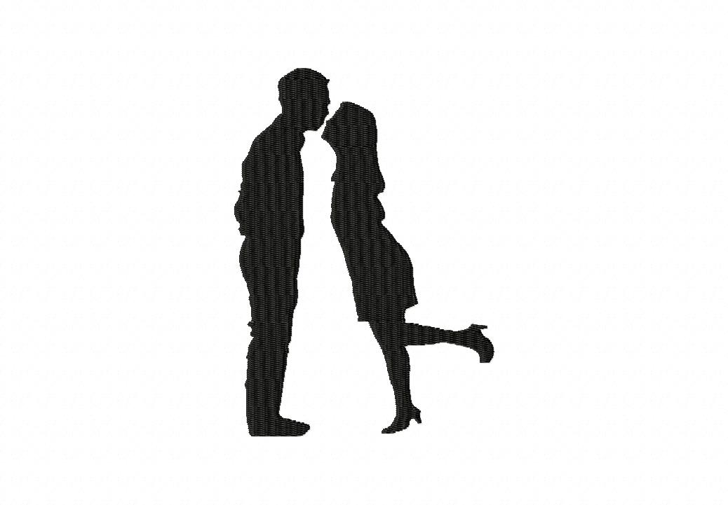 1038x721 Free Kissing Silhouette, Hanslodge Clip Art Collection