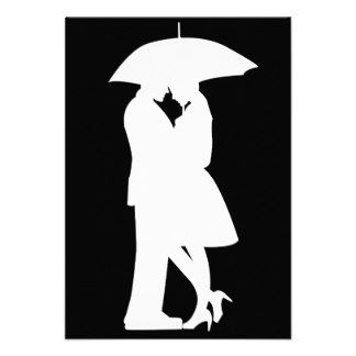 324x324 Romantic Umbrellas Silhouettes Romantic Silhouette Couple