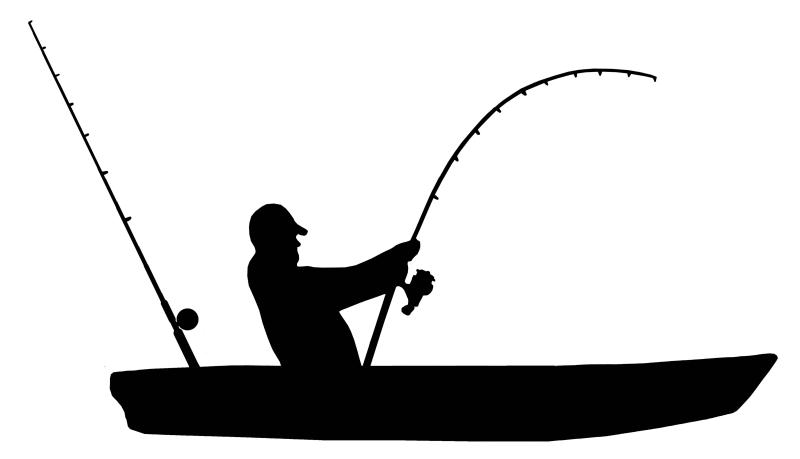 800x459 Fisherman Clipart Kayak Fishing
