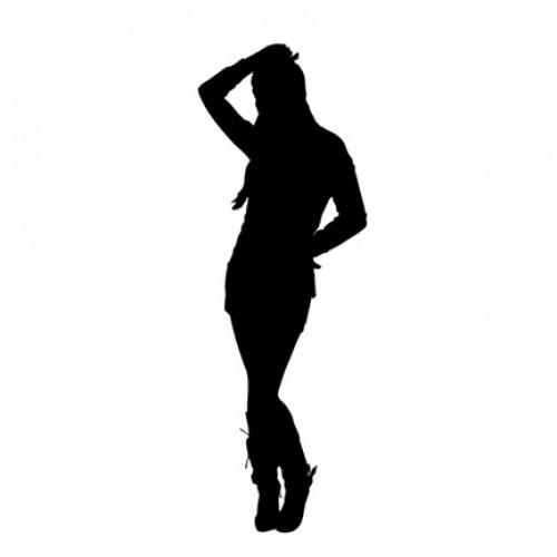 500x500 Girl Ing Silhouette